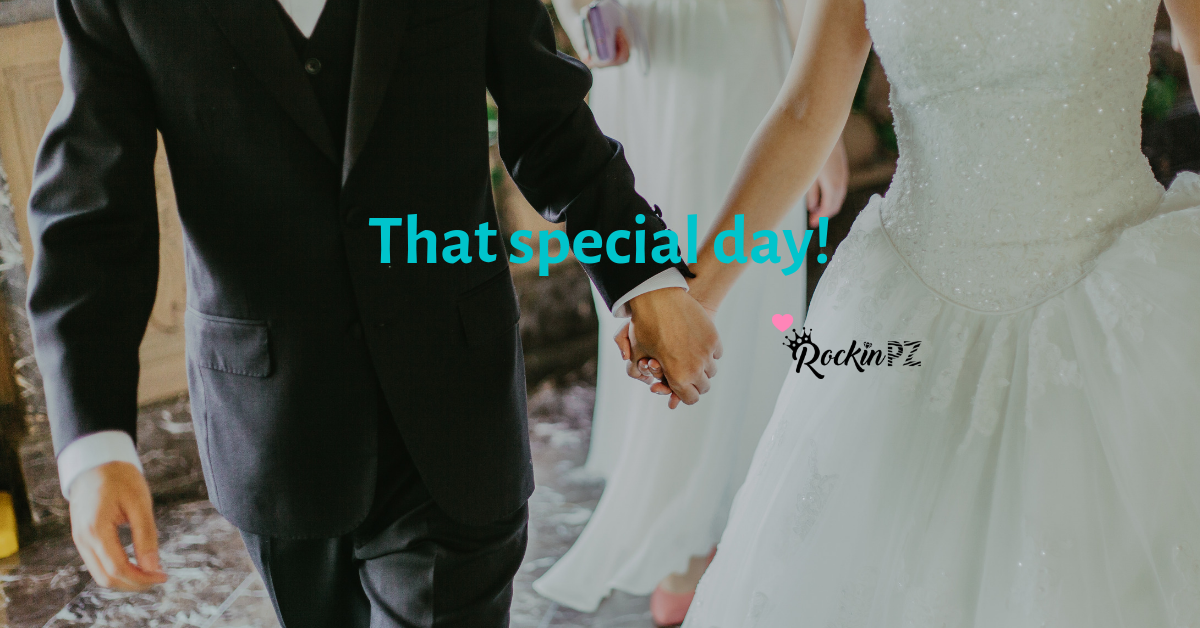 That special day!