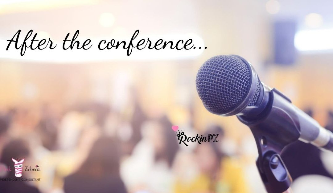 Did you just attend a super motivating conference?