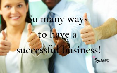 So many ways to be successful!