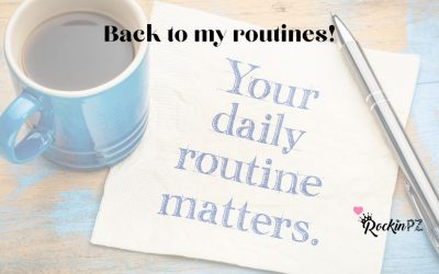 Back in to my routine!