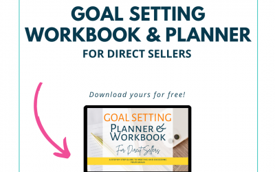 Updated Goal Setting Workbook & Planner for Direct Sellers