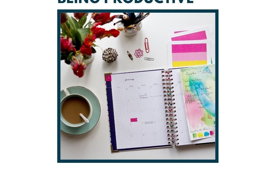 Tips on Planning Out Your Week and Being Productive