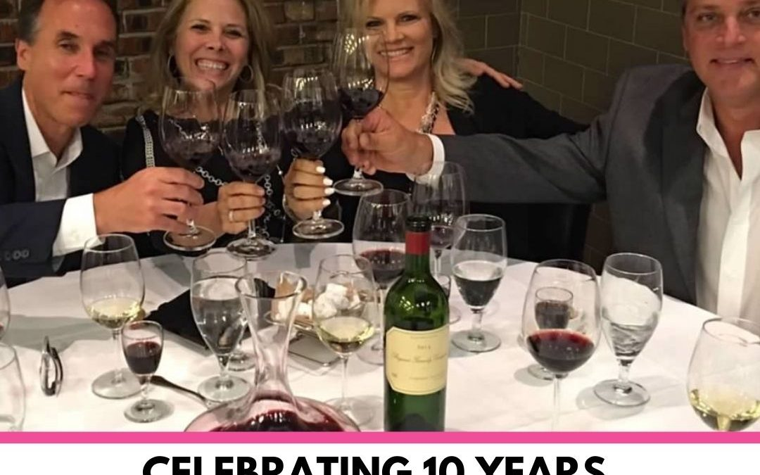 10 Years in Direct Sales with Pink Zebra
