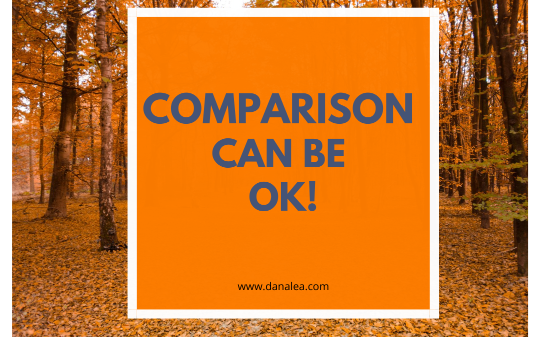 Comparison Can Be OK!